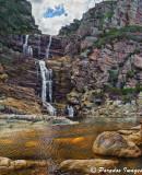 Waterfall on the Otter Trail, Tsitsikamma National Park
