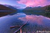 Bowman Lake Afterglow