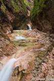 Almbachklamm Waterfall