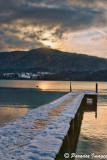 Cold Tergensee Sunset