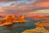 Another view of the sunset from Alstrom Point