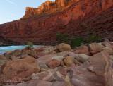 Last light on North Canyon