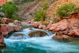 Havasu - Blue Water!  - River Mile 157.3
