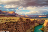 Vermilion Cliff Sunset from Navajo Bridge
