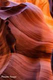 Reflected lower Antelope light