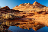 Reflections in North Coyote Butte
