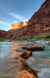 North Canyon Rapid at Sunset - River Mile 20.7