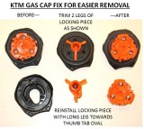 KTM Gas Cap Fix for Easier Opening