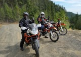 Olympic Peninsula Adventure Ride- Sunny Hood Canal Side, Day 1
