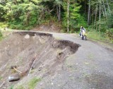 Olympic Peninsula Adventure Ride- North Side, Sol Duc Area, Washout w/Safe Passage, Day 2