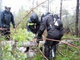 Olympic Peninsula Adventure Ride- Rain and Wind Storm, Clearing Downed Trees, Survival Mode, Day 3