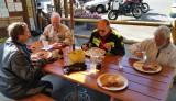 VME Ride- Trout Lake Huckleberry Pancakes