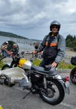 Vintage Motorcycle Enthusiasts (VME) Isle of Vashon Ride 2015 with '68 BSA 441 Victor