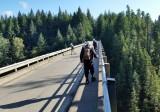 Herb's Pre-Ride of South Olympics- High Steel Bridge