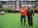 Olympic Rain Forest and Quinault Lodge- Warming Up Between Rain Showers