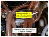 TMX Overflow Tube Routing for Improved Mileage