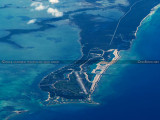 2014 - aerial photo of West End Airport, Grand Bahama Island aviation stock photo #5565C