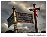 1319. Panneau de signalisation