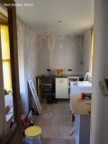 1447. New kitchen. Day 3.