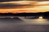 1564. Riverside mist