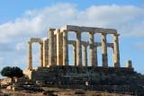 Temple of Poseidon Cape Sounion about 10 AM