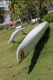 In Rotoava I photographed my 1st outrigger canoe