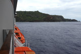 After 2 days at sea, we anchored off the coast of the only inhabited Pitcairn Island.  There are currently 47 residents.