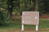 If see sign to turn for Mt. Hamilton (pkg) just pass it, although you CAN get to place you want to be by going this way.