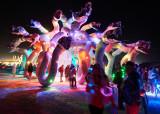 Night Pics - Burning Man 2015