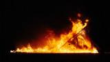 Temple Burn - Burning Man 2015