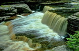Aysgarth Falls,  Bolton Castle, North Yorkshire