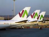 WAM 747-400's lineup