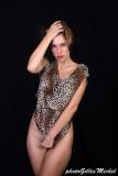 Amandine Mod'Elegance naked under her dress