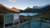 Dove Lake sundown