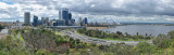 The changing skyline of Perth, Western Australia