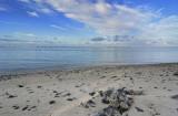 Sunrise at Arorangi Beach