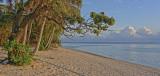 Sunset at Arorangi Beach