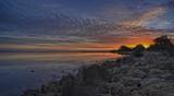 Coodanup sunset - sans pelican!
