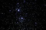 NGC 869 & NGC 884 Double Stars Cluster, 240s iso 1600