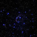 NGC 6888 Crescent Nebula. 1276 iso 200