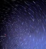 Meteor- Geminids Meteor Shower.