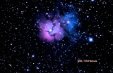 New Picture Of M20 Trifid Nebula Made Monday Morining 3:21 Am.