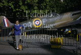 02 2X Kodachrome 35mm Slides Supermarine Spitfire PR-F X4590 Jersey 1971 Snapshots.jpg