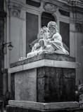 statua del dio Nilo - 'o cuorpo 'e Napule