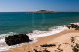 Praia e Ilha do Pessegueiro