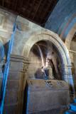 Capela de N. S. da Piedade, concluida em 1402, por ordem testamentária de D. Gil Cabral, bispo da Guarda