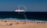 Queen  Mary 2 Visto de Caxias