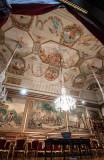 Teto: Alegoria ao Regresso de D. João VI ao Reino, de Cirilo Wolkmar Machado e Manuel Piolti (c. 1814)