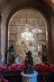 A Sala Azul Vista do Gabinete de Carvalho