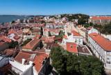 Alfama e o Castelo Vistos de São Vicente de Fora